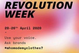 Fashion Revolution Week Moda Devrimi Haftası